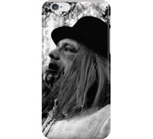 UZA Ray Digger Black and White  iPhone Case/Skin