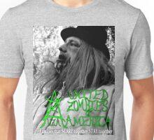 UZA Ray Digger Black and White  Unisex T-Shirt