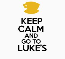 Keep Calm and go to Luke's Womens Fitted T-Shirt