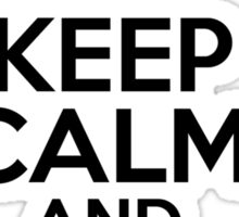 Keep Calm and go to Luke's Sticker