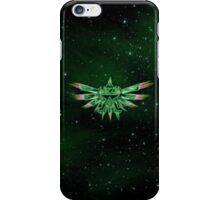 TRIFORCE GREEN SPACE iPhone Case/Skin