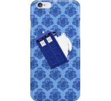 Baymax Inside Flying Tardis iPhone Case/Skin