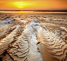 Sunrise ripples by Garth Smith