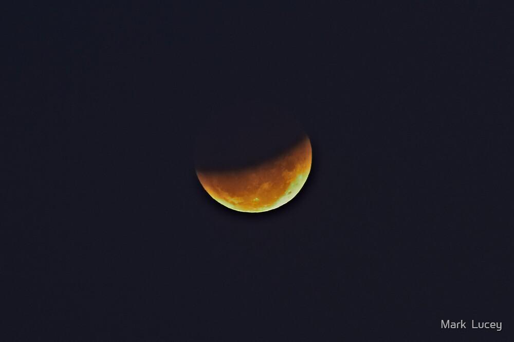 Sydney's Partial Lunar Eclipse by Mark  Lucey