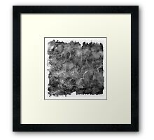 The Atlas of Dreams - Plate 21 (b&w) Framed Print