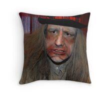 UZA Ray Digger Mad  Throw Pillow