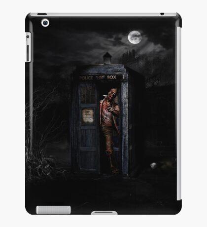 TARDIS ZOMBIE iPad Case/Skin