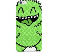Fuzzy Green Monster iPhone Case/Skin