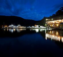 Berowra Waters Marina by Malcolm Katon