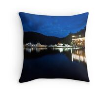 Berowra Waters Marina Throw Pillow