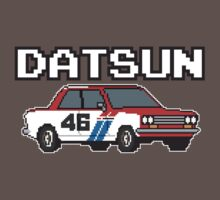 Datsun 510 8Bit by The World Of Pootermobile