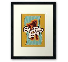 Star Foxy Lady Framed Print