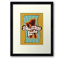 Star Foxy Lady Framed Print
