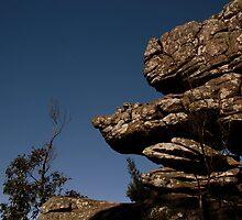 grampians rock formation by fazza