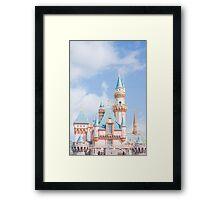 Afternoon Castle Framed Print