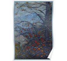 Autumn rain jewels Poster