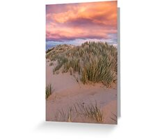 Sandy Sunset - Apollo Bay, Victoria Greeting Card