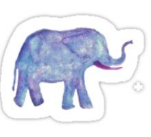 Watercolor Elephant Sticker