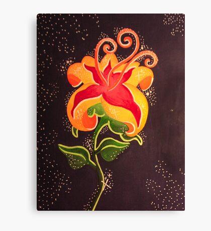Flower Gleam and Glow Canvas Print