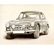 MG MGB MkII Photographic Print