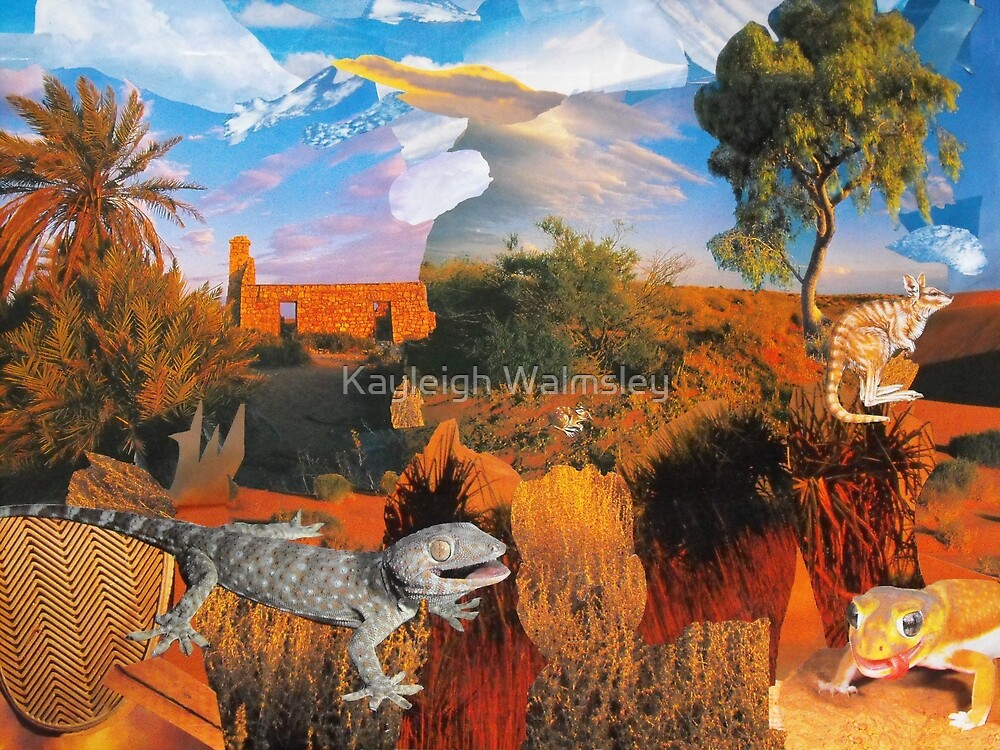 Lizards Lounging by Kayleigh Walmsley