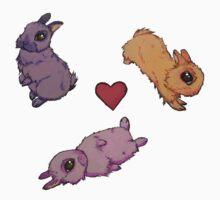Love Bunnies One Piece - Long Sleeve