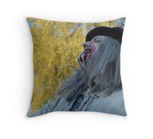 UZA Ray Digger Fresh Air Throw Pillow