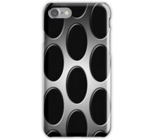 Screened in Black and Gray iPhone Case/Skin