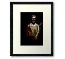 Flesh & Stone Framed Print