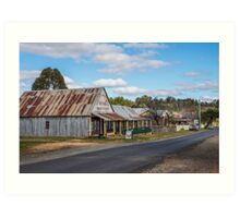 Hill End NSW Australia Art Print