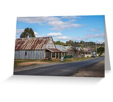 Hill End NSW Australia Greeting Card