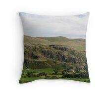 Country Scene near Keswick Throw Pillow