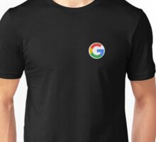 "New Google ""G"" Logo (September 2015) - Clear, High-Quality, Large Unisex T-Shirt"