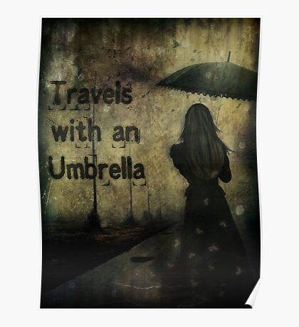 Travels With An Umbrella Poster