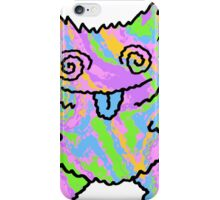 Psychedelic Cat iPhone Case/Skin
