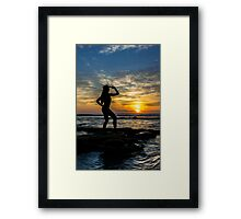 Yippie Ki Yay Framed Print