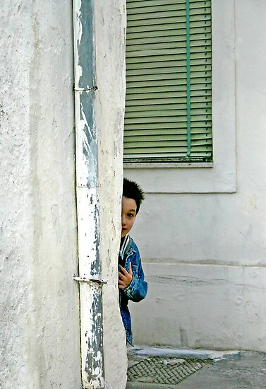 Hide and Seek - Maglie Italy by Debbie Pinard