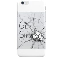 Get Sherl:)ck iPhone Case/Skin