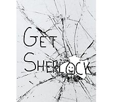 Get Sherl:)ck Photographic Print