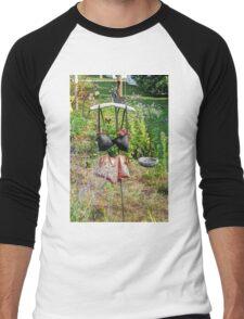The Invisable Woman Men's Baseball ¾ T-Shirt