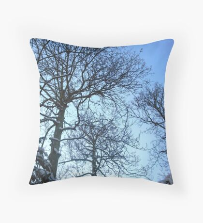Treescape Throw Pillow