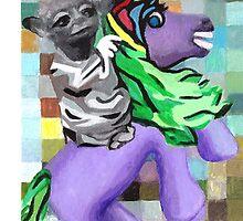 Yoda on Horseback by alisontsoi