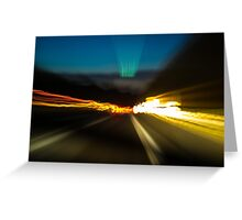 Need For Speed Greeting Card