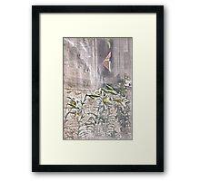 """""""Under the Kitchen Window ..."""" Framed Print"""