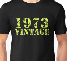 1973 Vintage 42nd Birthday Unisex T-Shirt