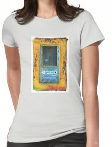 Spiritual Emergence Taos Indian Door Womens Fitted T-Shirt