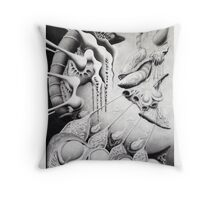 Foreign By Nature Throw Pillow