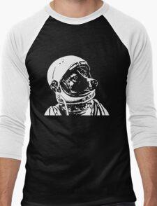 Astronaut Dog Cool Men's Baseball ¾ T-Shirt