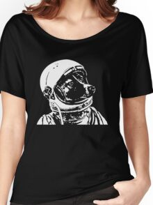 Astronaut Dog Cool Women's Relaxed Fit T-Shirt