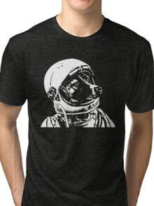 Astronaut Dog Cool Tri-blend T-Shirt